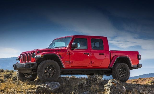 Jeep Is Finally Returned To The Pickup Truck Segment With A Rugged Model Jeep Wrangler Car Jeep Gladiator