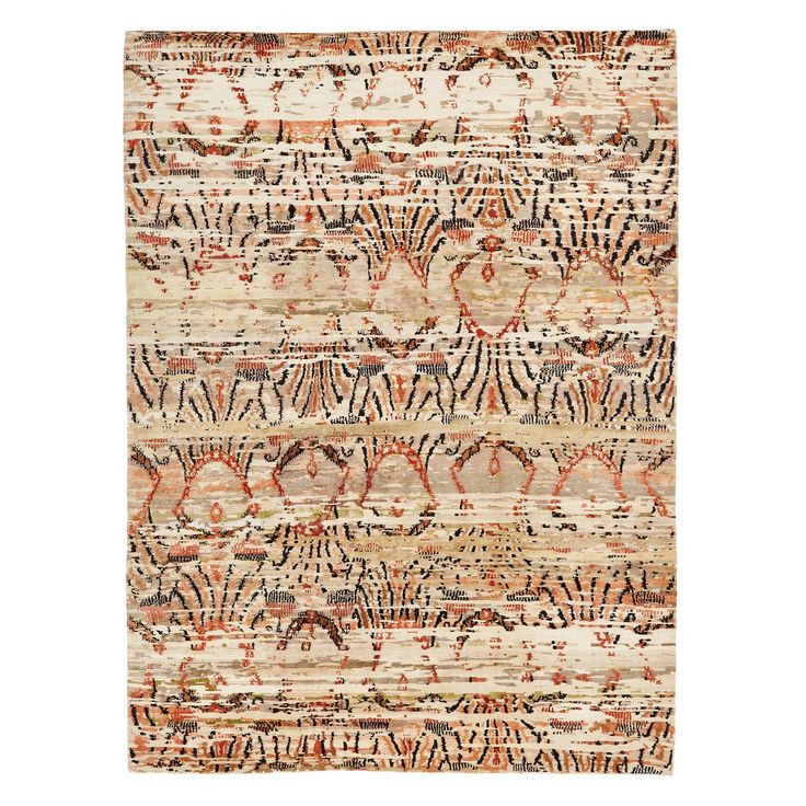 Prism Creates Their Own Contemporary Patterns And Uses Them In  High Contrast Colors (here, Rust And Black On A Neutral Field) This Rug  Works In So Many ...
