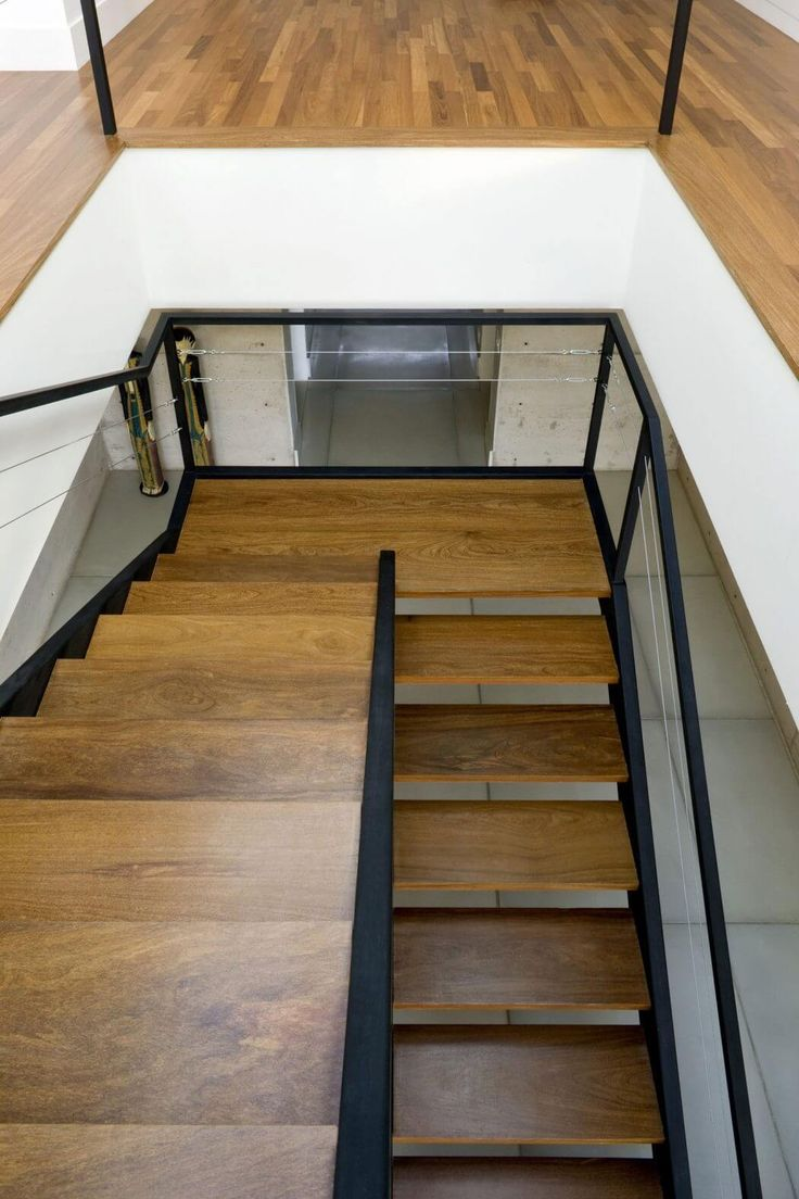 Hiding stair under the balcony - Find This Pin And More On Stairs Et Balcony