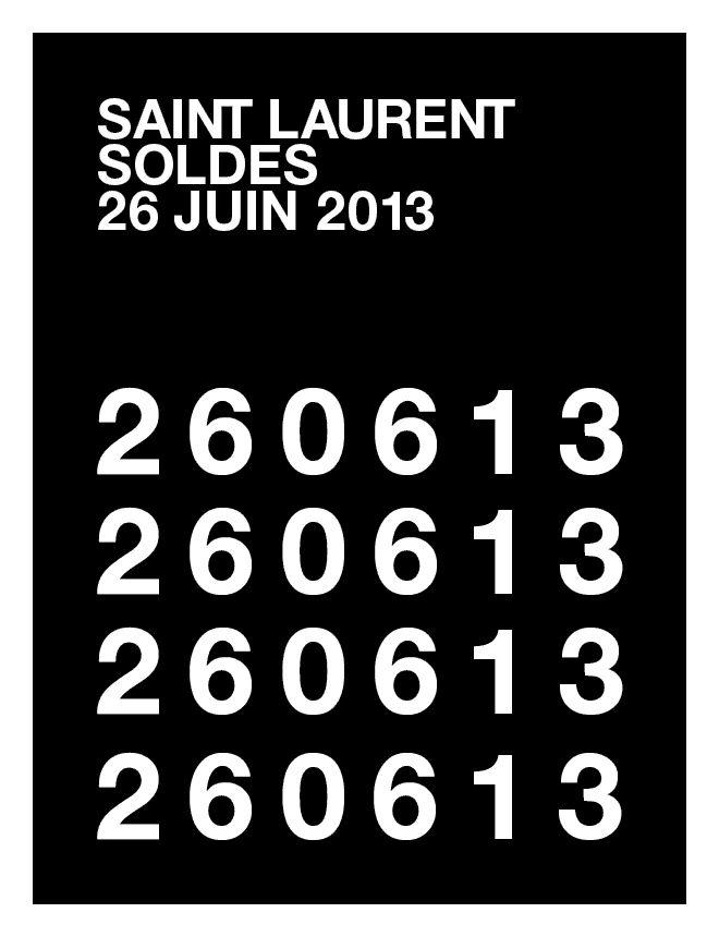 Saint Laurent / Soldes