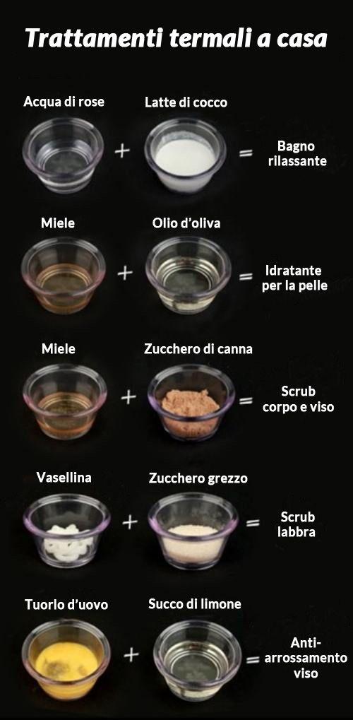 Trattamenti di bellezza termali direttamente a casa: pochi trucchi e ingredienti naturali per rendere la tua pelle liscia e morbida.  #consiglibio www.ecomarket.bio