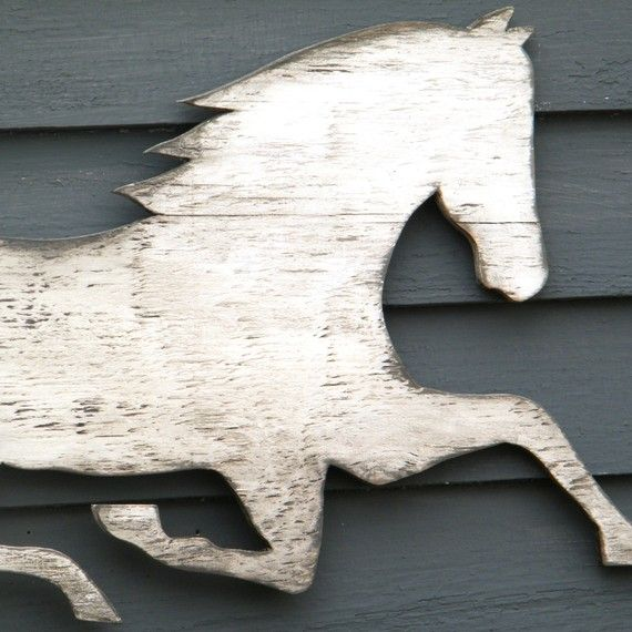 Horse Wooden Sign