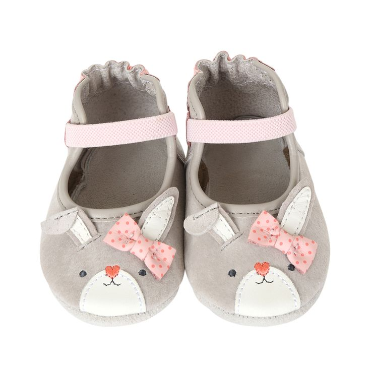 Bunny Face Mary Jane Baby Shoes | Robeez