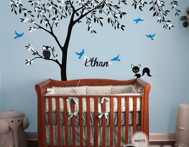 Best Nursery Wall Decals Images On Pinterest - Personalized custom vinyl wall decals for nursery