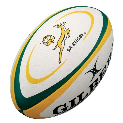 Rugby ball from South Africa (the Springboks)