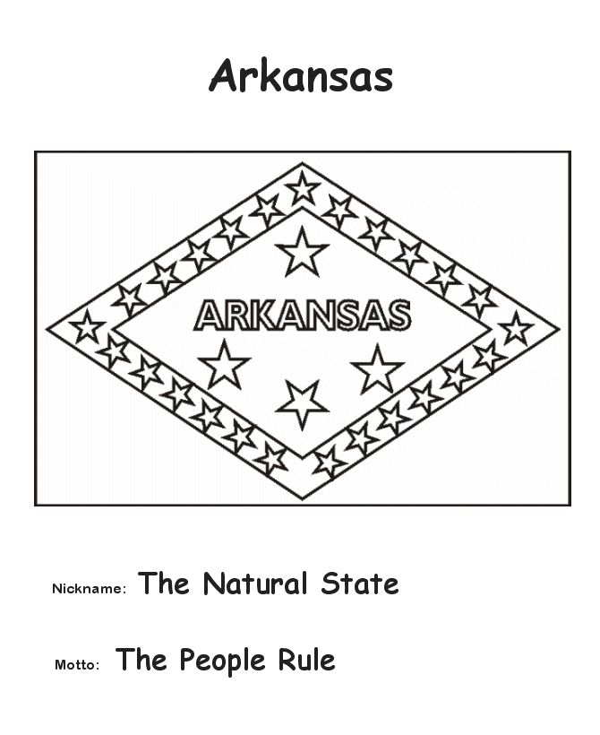 17 best images about arkansas on pinterest football for Arkansas state flag coloring page