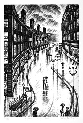 John Duffin - Regent Street Rain.