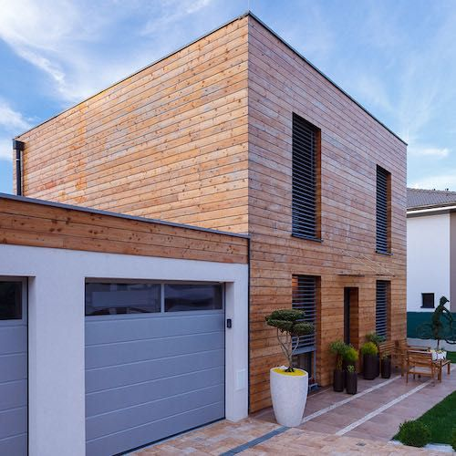 passivhaus | type house | wood | natural | ecocube | slovakia |