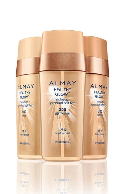 This medium-coverage formula is like next-level BB cream: It covers flaws and has SPF 20, but is also infused with DHA — the active ingredient in self-tanner — to leave behind a longer-lasting glow.Almay Healthy Glow Makeup + Gradual Self Tan, $14.99, available at drugstores in January 2017. #refinery29 http://www.refinery29.com/2016/12/133648/drugstore-beauty-product-innovations-2017#slide-6