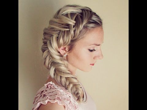 How to: Dutch Fishtail Braid (Elsa Hair) Great tutorial!