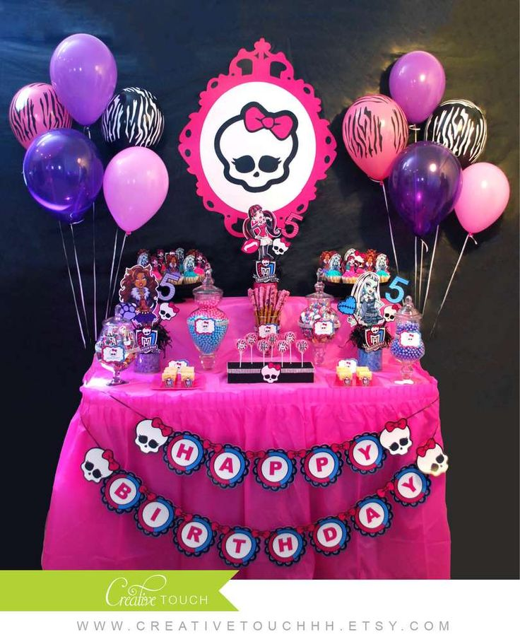 91 best Monster High Party Ideas images – Free Monster High Party Invitations