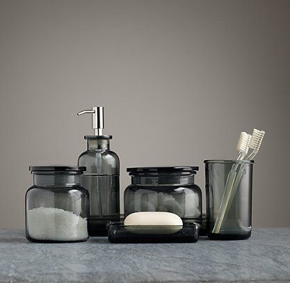17 best images about bathroom accessories on pinterest for Restoration hardware bathroom accessories