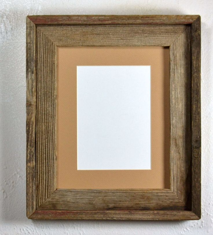 85 best Reclaimed wood picture frames rustic style images on ...