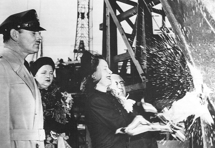 Christening of the Liberty Ship S. S. Carole Lombard 1944 - Carole Lombard - Wikipedia, the free encyclopedia