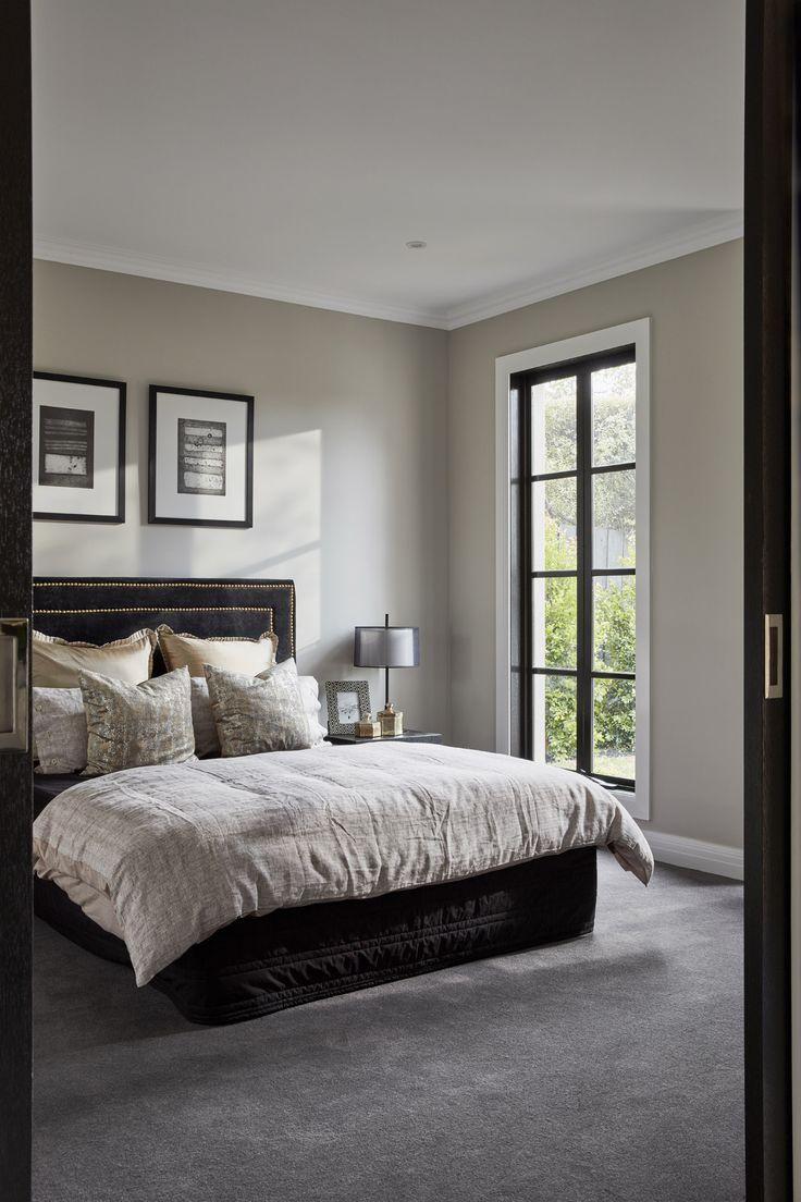 This bedroom can be found at our stunning Hampshire 48 on display in Kew, VIC.