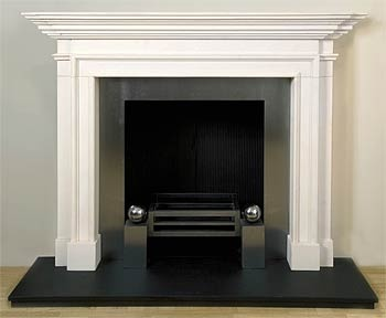 how to clean slate fireplace