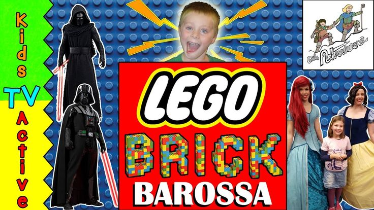 Brick Barossa LEGO Fan Event. Kids TV Active see AMAZING LEGO DISPLAYS a...
