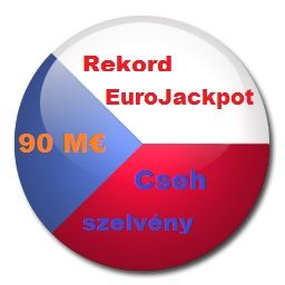A rekord Eurojackpot cseh játékoshoz került. Együtt csatlakoztunk a chehekkel a nemzetközi lottó játékhoz 2014.10.10.-én...
