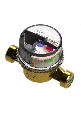 Contatori volumetrici BASIC per acqua sanitaria CALDA e FREDDA MID DIRECTIVE • I contatori volumetrici BASIC sono di tipo monogetto, a quadrante asciutto, a trasmissione magnetica • I contatori volumetrici BASIC sono predisposti per la successiva installazione di un emettitore M-Bus diretto o radio.  • ACS BASIC Temp max 90 °C  Qn 1,5 m3/h  • AFS BASIC Temp max 50 °C  Qn 1,5 m3/h