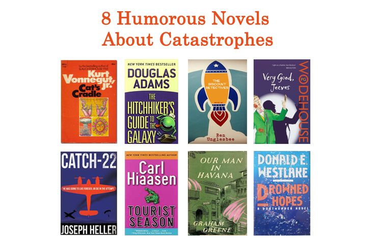 8 Humorous Novels About Catastrophes
