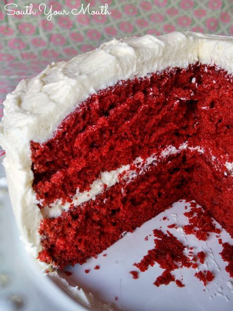 Mama's Red Velvet Cake - South Your Mouth