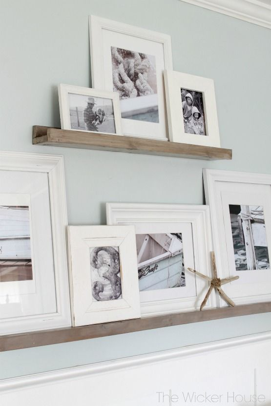 cityfarmhouse DIY Picture Ledges http://cityfarmhouse.com/2015/03/diy-picture-ledges.html via bHome https://bhome.us
