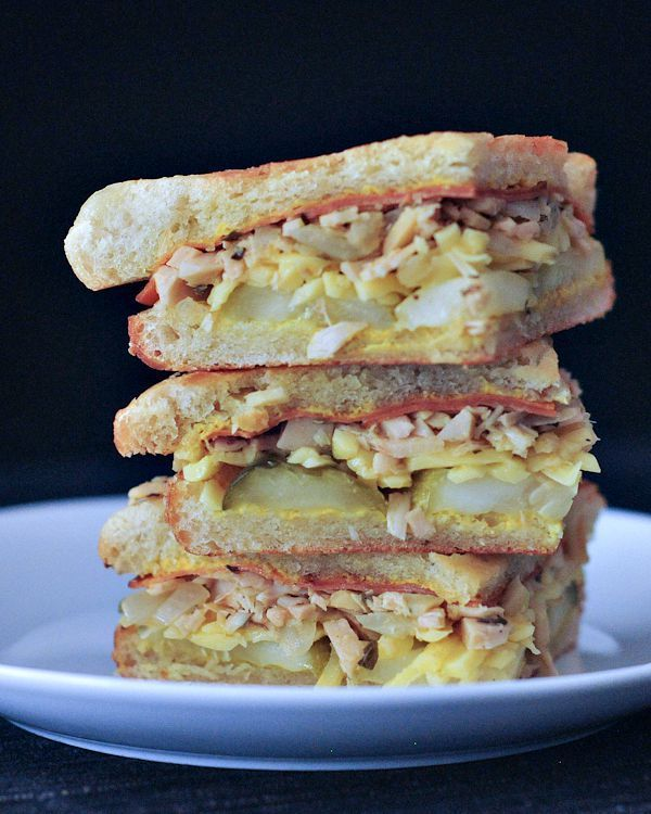 die besten 25 cubano sandwich ideen auf pinterest. Black Bedroom Furniture Sets. Home Design Ideas