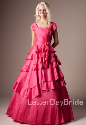The only set back about this dress is that it only comes in pink :).