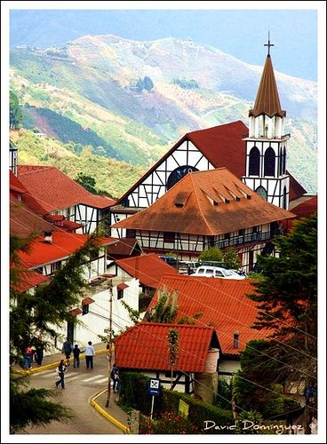 La Colonia Tovar, Venezuela (this is a German populated area in Venezuela, so beautiful!)