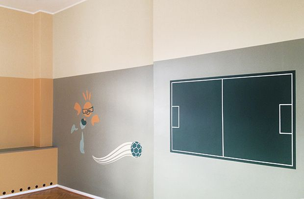 Aula Mosaikgrundschule Hohen Neuendorf, Neues Gestaltungskonzept: MFG