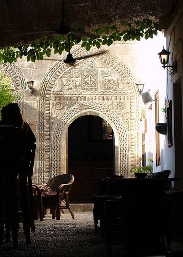 Captain's House Bar, Lindos, Rhodes