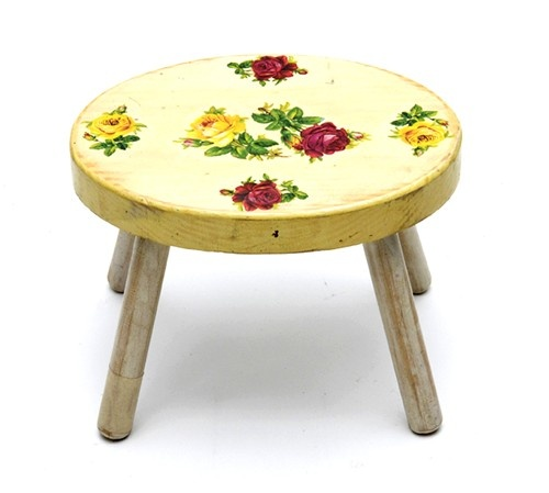 33 Best Painted Stool Ideas Images On Pinterest Chairs