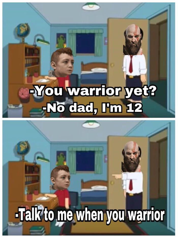 God Of War 2018 In A Nutshell God Of War Kratos God Of War Star Wars Jokes