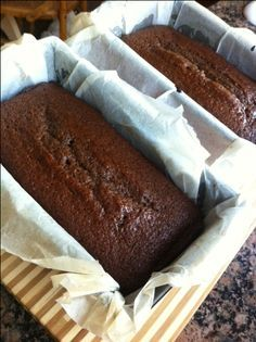 Sticky Gingerbread Recipe