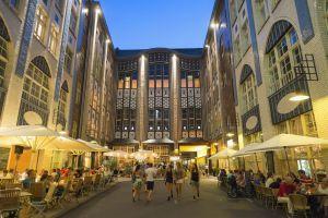 El mercado de Hackescher, en Berlín.