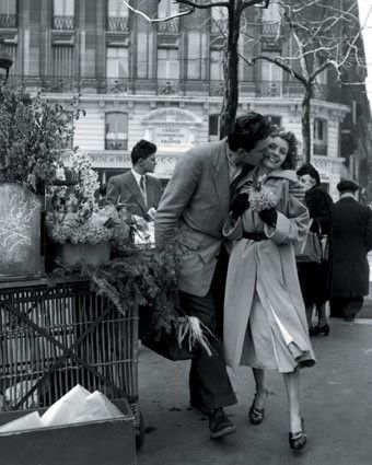 Doisneau did more than one kissing photograph. The others are just as intimate, but are less famous...