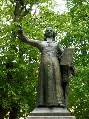 Versailles, Yvelines: statue de Charles-Michel de L'Épée, appelé l'abbé de L'Épée