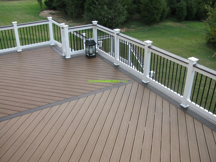 256 best images about deck ideas on pinterest composite for Cheap composite decking