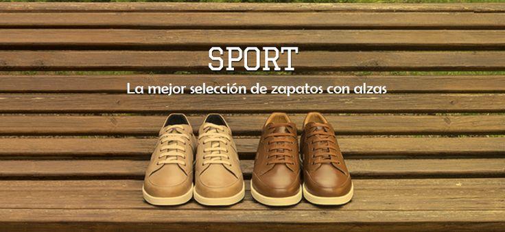 Descubre la amplia colección de zapatos con alzas estilo sport para combinar con pantalones vaqueros o chinos. Modelo Ibiza, disponible en diferentes colores: beige, gris, blanco y negro. #masaltos #zapatosconalzas #zapatossport