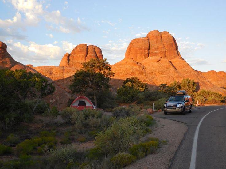 Devil's Garden Campground in Moab, UT