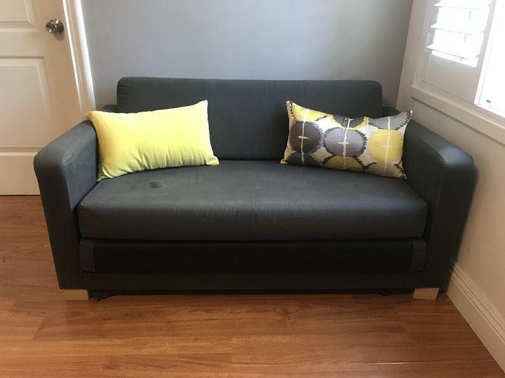 Amazing ikea solsta sleeper sofa ransta dark gray with - Ikea divano solsta ...