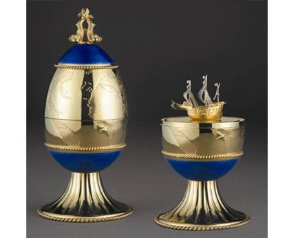 The New World Egg Theo Fabergé