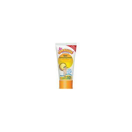 Моё солнышко Солнцезащитный крем SPF +30, 55 мл, Моё солнышко  — 125р.  Мое солнышко Крем детский солнцезащитный SPF 30 (55 мл), — солнцезащитный крем с фактором защиты 30 для детей от 3 месяцев. Содержит UVA/UVB-фильтры, ухаживающие увлажняющие кожу компоненты: экстракт календулы, витамин Е.