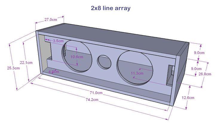 PA Speaker designs by THA