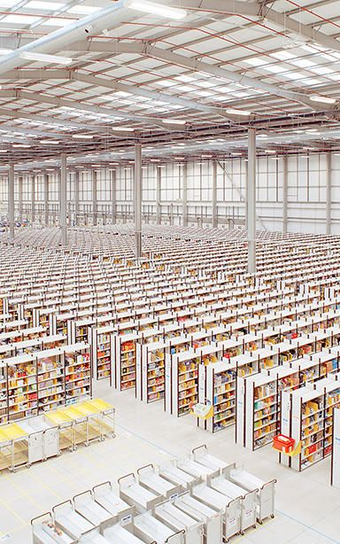 Think Your Office Is Soulless? Check Out This Amazon Fulfillment Center   Co.Design   business + design