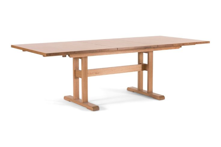 Butterfly Extension Dining Table, an Australian made Mountain Ash or Tasmanian Oak table. Have it made in your choice of stain, size and wood. From Urban Rhythm, Melbourne urbanrhythm.com.au