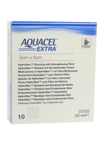 Aquacel Extra has greater strength and absorbancy than regular Aquacel dressings.Aquacel Extra dressings are 39% more absorbant and has a wet tensile strength 9 times greater than Aquacel.