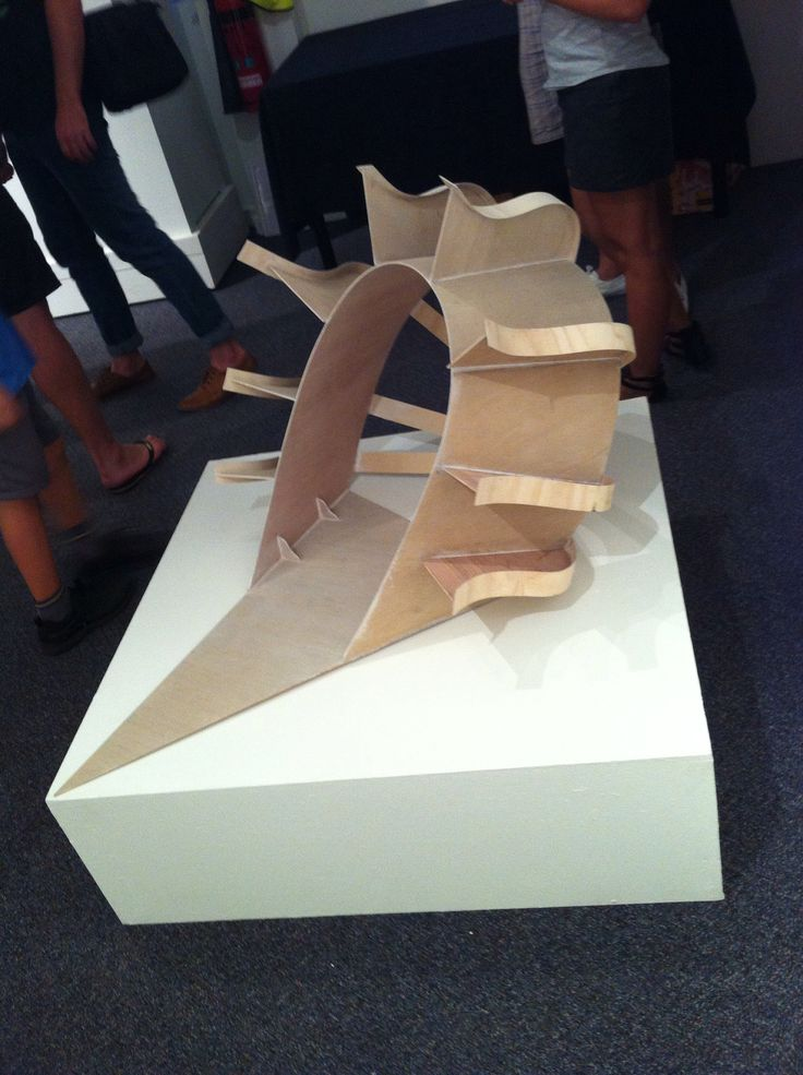 Abstract sculpture 2010 Tafe end if year exhibition EA