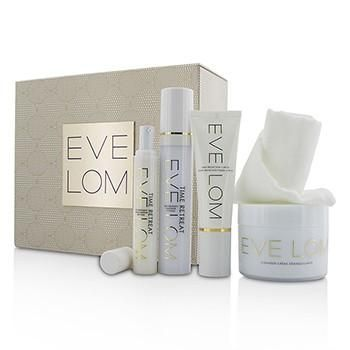 Restorative Ritual Set: Cleanser 200ml+Face Treatment 50ml+Eye Treatment 15ml+Daily Protection SPF 50 50ml+Muslin Cloth - 5pcs