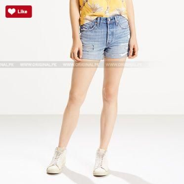 Levis 501 Long Shorts Highway Blues 2017  #levis #levis2017 #levisshorts2017 #leviscapris2017 #leviswomen #leviswomen2017 #levis2017 #womenfashion's #womendresses #womenfashion #womenclothes #ladiesfashion #ladiesclothes #fashion #style #fashion2017 #style2017 Whatsapp: 00923452355358 Website: www.original.pk